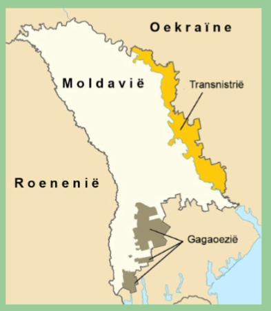 kaart Moldalvië ivm bezoek stichting Theo